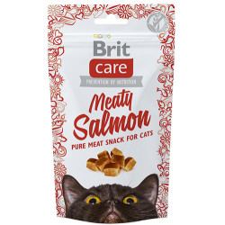 Brit Care - Brit Care Meaty Salmon Tahılsız Somonlu Kedi Ödülü 50 Gr