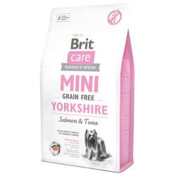Brit Care - Brit Care Mini Yorkshire Küçük Irk Tahılsız Köpek Maması 2 Kg+2 Adet Temizlik Mendili