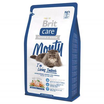 Brit Care Monty Evde Yaşayan Kedi Maması 2 Kg + 2 Adet 100 Gr Yaş Mama