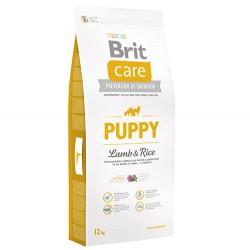 Brit Care - Brit Care Puppy Kuzu Etli Yavru Köpek Maması 12 Kg + 10 Adet Temizlik Mendili