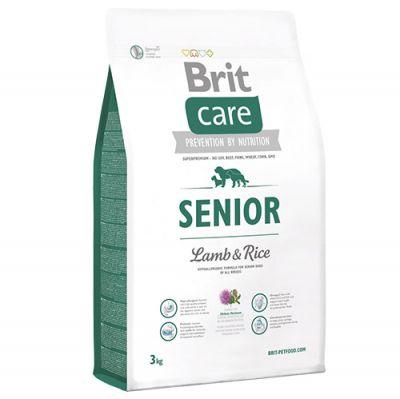 Brit Care Senior Kuzu Etli Yaşlı Köpek Maması 3 Kg+5 Adet Temizlik Mendili