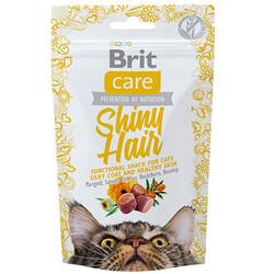 Brit Care - Brit Care Cat Snack Shiny Hair Tahılsız Tüy Sağlığı Kedi Ödülü 50 Gr