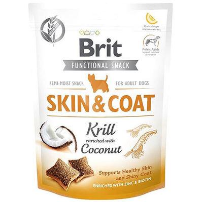 Brit Care Skin Coat Hindistan Cevizi Deri Ve Tüy Sağlığı Tahılsız Köpek Ödülü 150 Gr