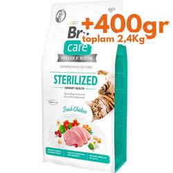 Brit Care - Brit Care Sterilised Urinary Tavuk Etli Tahılsız Kısırlaştırılmış Kedi Maması 2 Kg+400 Gr (Toplam: 2,4 Kg)