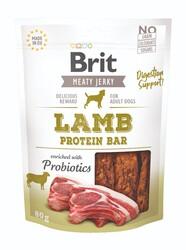 Brit Care - Brit Jerky Snack Lamb Protein Bar Tahılsız Sindirim Destekleyici Kuzulu Proteinli Bar Köpek Ödülü 80 Gr