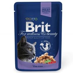 Brit Care - Brit Premium Cod Fish Morina Balığı Kedi Yaş Maması 100 Gr