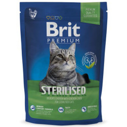 Brit Care - Brit Premium Sterilised Tavuk Kısırlaştırılmış Kedi Maması 1,5 Kg