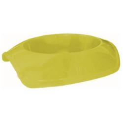 Cado Pet - Cado Pet Plastik Kedi Köpek Mama Su Kabı 250 ML (Sarı)