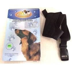 Cameo - Cameo Naylon Kumaş Köpek Ağızlığı No: 5 XL