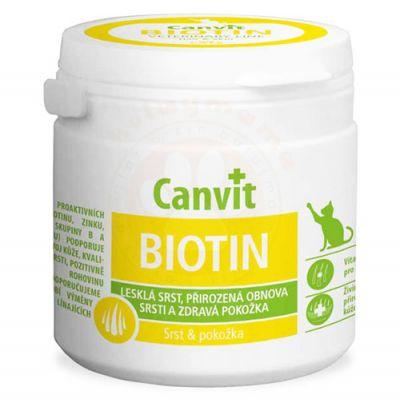 Canvit Biotin Tüy ve Cilt Sağlığı Kedi Vitamini 100 Gr (100 Tablet)