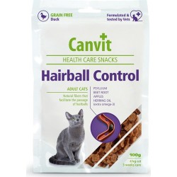 Canvit - Canvit Duck Hairball Tüy Yumağı Kontrol Tahılsız Ördek Etli Kedi Ödülü 100 Gr