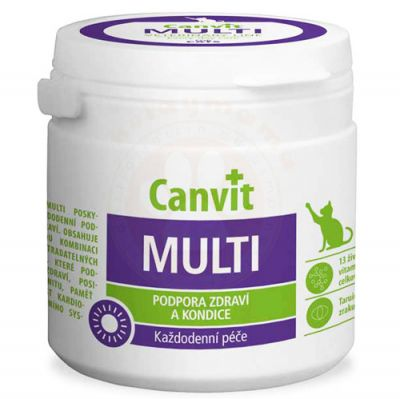 Canvit Multi For Cats Kedi Vitamini 100 Gr (100 Tablet)