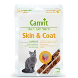 Canvit - Canvit Salmon SkinCoat Deri Tüy Sağlığı Tahılsız Somonlu Kedi Ödülü 100 Gr