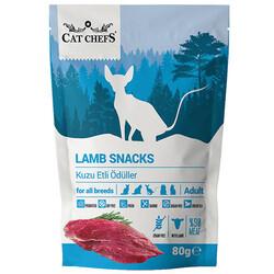 Cat Chefs - Cat Chefs Lamb Snacks Kuzu Etli Tahılsız Kedi Ödülü 80 Gr