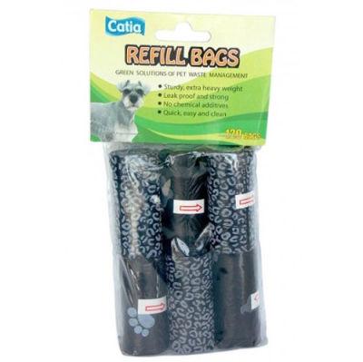 Catia Siyah Atık Poşet Torbası 6lı Paket (120 Poşet)