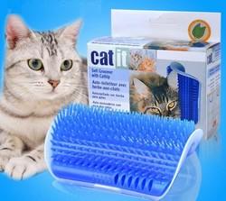 Catit - Catit 1.0 Catnipli Kaşınma Aparatı Mavi