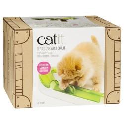 Catit - Catit 43156 Senses 2.0 Super Circuit Tünel İnteraktive Kedi Oyuncağı