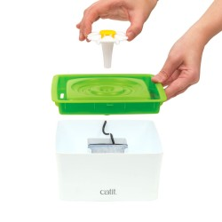 Catit 43735 Flower Fountain Mini Otomatik Kedi Su Sebili - Thumbnail
