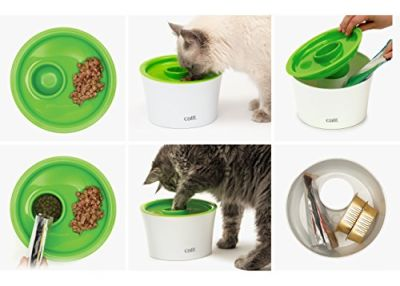 Catit 43741 Multi Feeder Çok Amaçlı Besleyici Kedi Mama Kabı