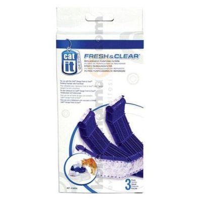Catit 50056 Fresh & Clear Otomatik Su Kabı Yedek Filtresi ( 3'lü Paket )