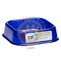 Catit - Catit 50460 Plastik Mama - Su Kabı Mavi Küçük