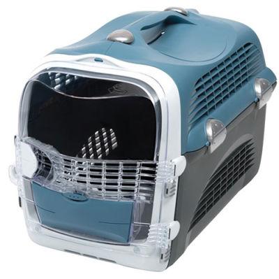 Catit Cabrio Kedi ve Küçük Irk Köpek Taşıma Çantası Mavi / Gri