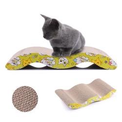 Catlife - Catlife 201743 Doğal Catnipli Karton Kedi Tırmalama Platformu