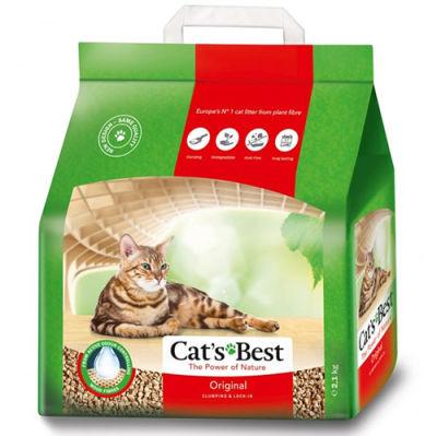 Cats Best Original Naturel Kedi Kumu 5 Lt