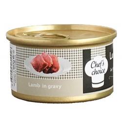 Chefs Choice - Chefs Choice Gravy Kuzu Eti Soslu Kedi Konservesi 80 Gr