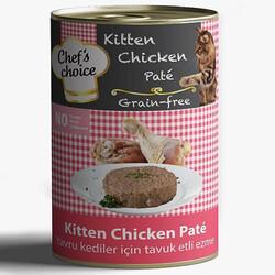 Chefs Choice - Chefs Choice Kitten Pate Tavuk Etli Ezme Tahılsız Yavru Kedi Konservesi 400 Gr