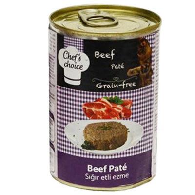 Chefs Choice Pate Biftek Ezmesi Tahılsız Kedi Konservesi 400 Gr