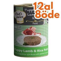 Chefs Choice - Chefs Choice Pate Puppy Lamb Yavru Kuzu Etli Köpek Konservesi 400 Gr - 12 Al 8 Öde