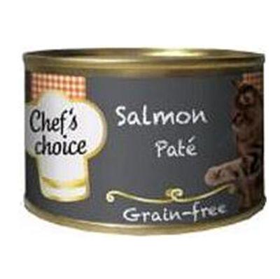 Chefs Choice Pate Somon Balığı Tahılsız Kedi Konservesi 80 Gr
