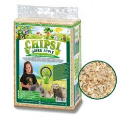 Chipsi - Chipsi Green Apple Yeşil Elma Aromalı Kemirgen Talaşı (60 Lt)