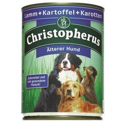 Christopherus - Christopherus Senior Kuzu, Patates ve Havuçlu Yaşlı Köpek Konservesi 800 Gr