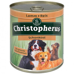 Christopherus - Christopherus Sensitive Kuzu ve Pirinçli Hassas Köpek Konservesi 800 Gr