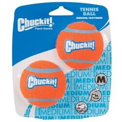 Chuckit - Chuckit 057402 2'li Köpek Tenis Oyun Topu ( Orta Boy )