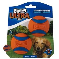 Chuckit - Chuckit 17001 Ultra Ball 2'li Köpek Oyun Topu ( Orta Boy )
