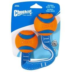 Chuckit - Chuckit 232201 Ultra Duo Tug 2'li Köpek Çekiştirme Topu
