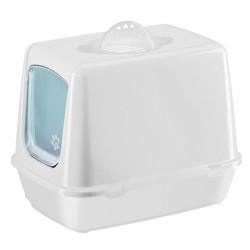 Diğer / Other - Çınar Kapalı Filtreli Kedi Tuvaleti 36x40x50 Cm (Beyaz)+Kürek