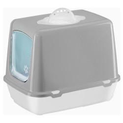 Diğer / Other - Çınar Kapalı Filtreli Kedi Tuvaleti 36x40x50 Cm (Gri)+Kürek