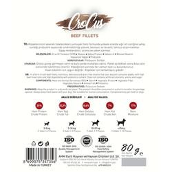 Crocus Beef Fillets Biftek Etli Tahılsız Köpek Ödülü 80 Gr - Thumbnail