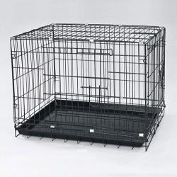 Dayang - Dayang Metal Tel Kedi ve Köpek Kafesi 78x48x55 Cm