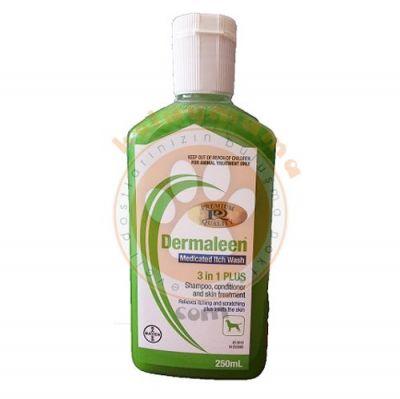 Bayer Dermaleen Antiseptik Kaşıntı ve Koku Giderici Köpek Şampuanı 250 ML
