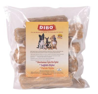 Dibo Beyaz Kemik Köpek Ödülü 80-90 Gr-13 Cm 15li Paket