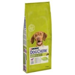 Dog Chow - Dog Chow Kuzu Etli Yetişkin Köpek Maması 14 Kg+10 Adet Temizlik Mendili