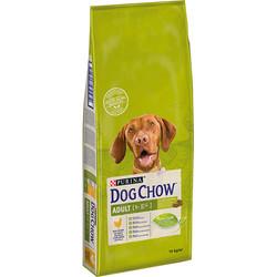 Dog Chow - Dog Chow Tavuklu Yetişkin Köpek Maması 14 Kg+10 Adet Temizlik Mendili