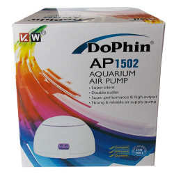 Dophin - Dophin AP1502 Akvaryum Çift Çıkışlı Hava Motoru