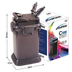 Dophin - Dophin C1600 Akvaryum Dış Filtre 1600 L/H