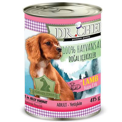 Dr. Chef Junior Kuzu Etli Tahılsız Yavru Köpek Konservesi 415 Gr